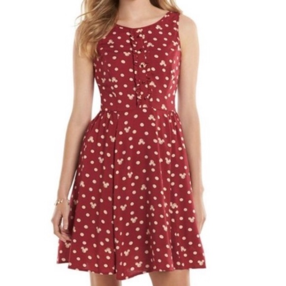 LC Lauren Conrad Dresses & Skirts - Disney dress Lauren Conrad Mickey Mouse